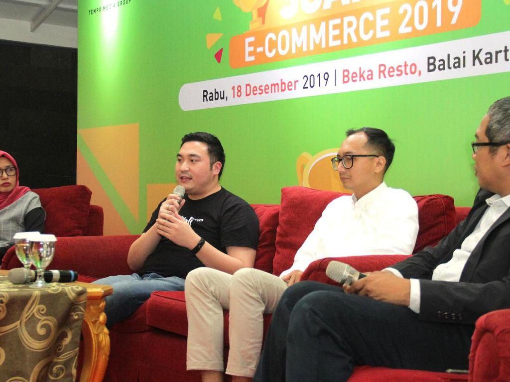 Diskusi Dinamika Industri E-Commerce Tanah Air