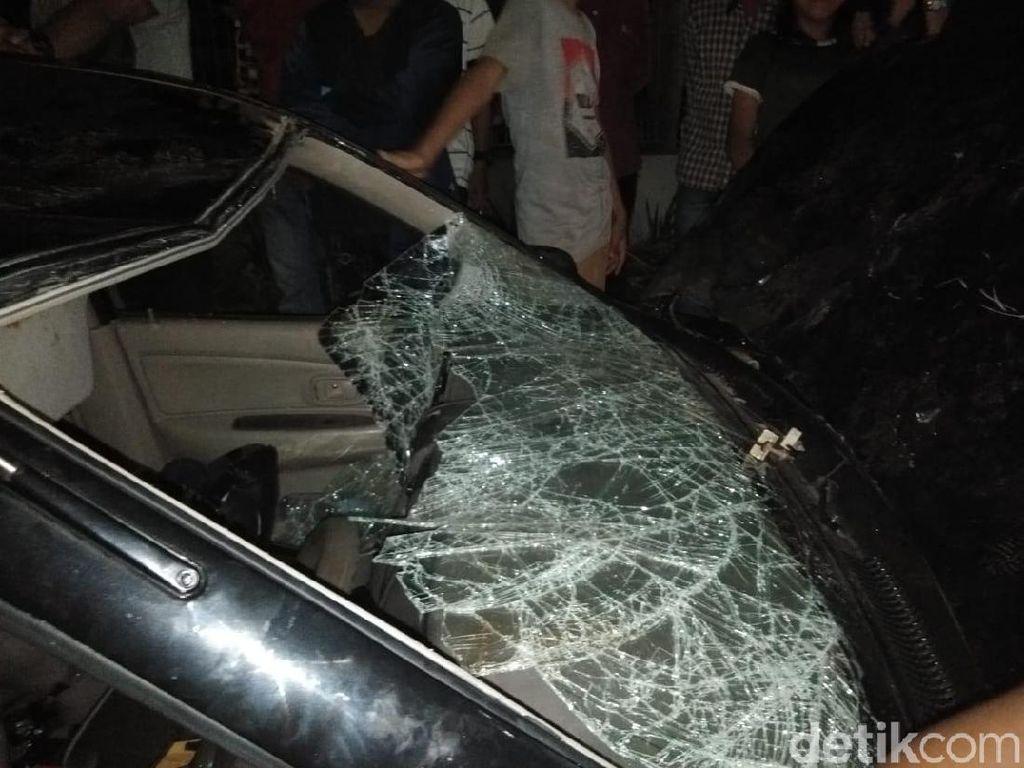 Sopir Mobil Tabrak Lari yang Dihancurkan Massa di Makassar Diduga Mabuk