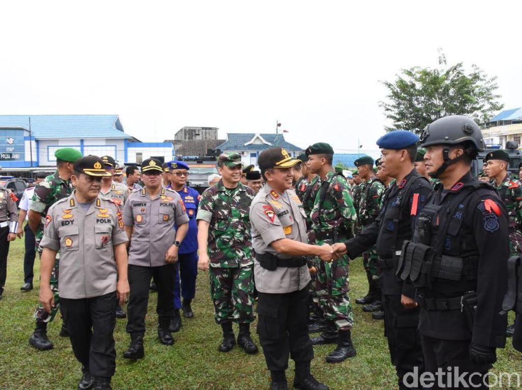 1.141 Polisi Dikerahkan Amankan Natal di Jambi, Jaga Ketat Tempat Ibadah