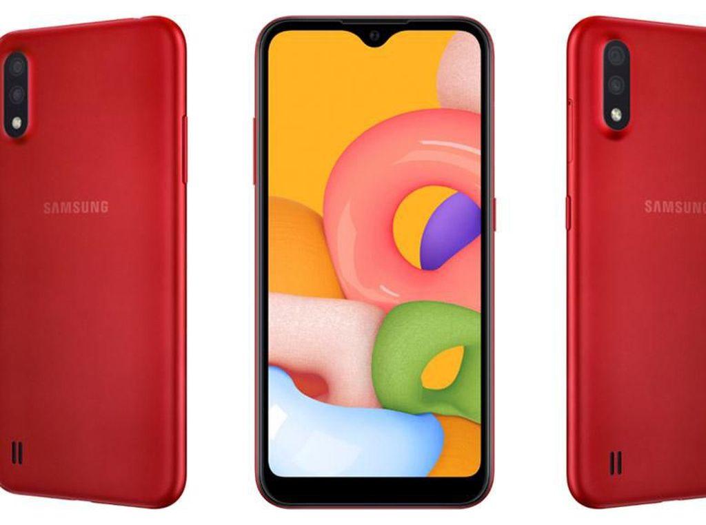 Samsung Galaxy A01 Incar Kelas Bawah