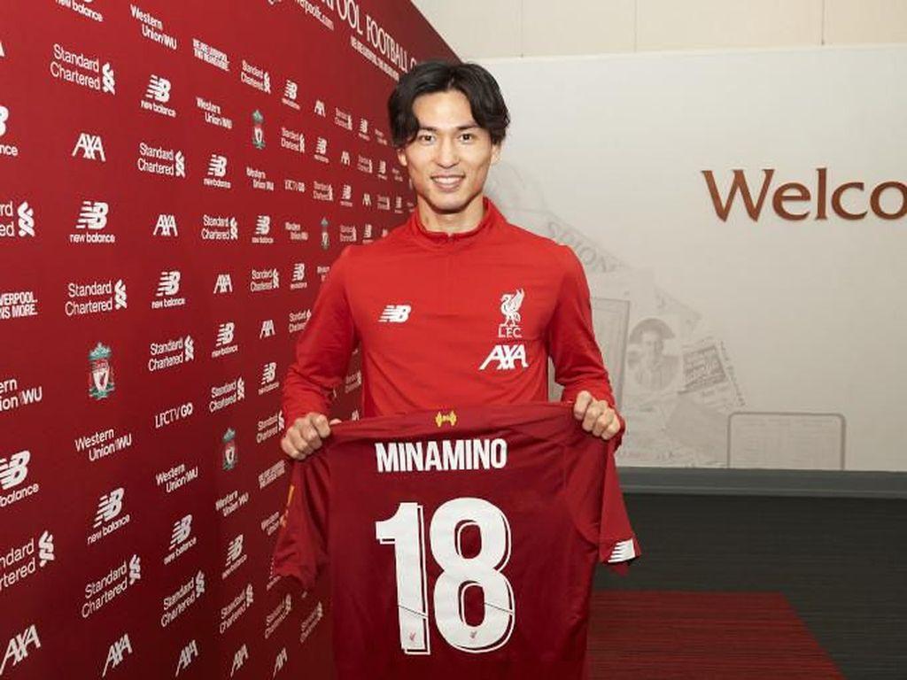 Andai Minamino Debut di Liverpool Vs Everton, TV Jepang Akan Cetak Rekor Penonton?