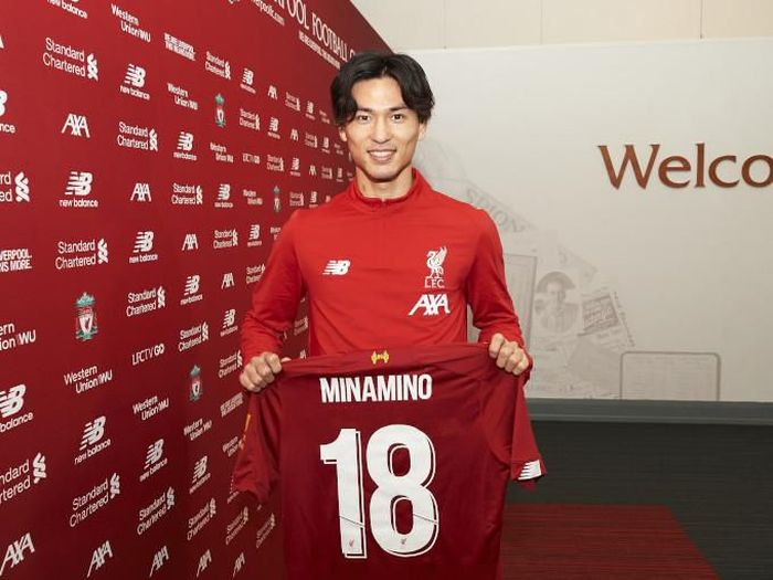 Juergen Klopp mengapresiasi pembelian Takumi Minamino oleh Liverpool (Foto: liverpoolfc.com)