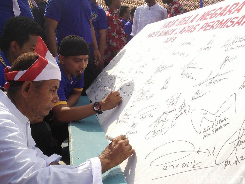 Hari Bela Negara, 38 Napi Teroris di Nusakambangan Ikrar Setia NKRI