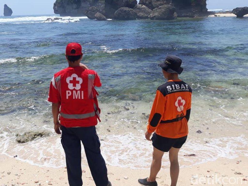 Mahasiswa Universitas Brawijaya Hilang Terseret Ombak Pantai Watu Leter