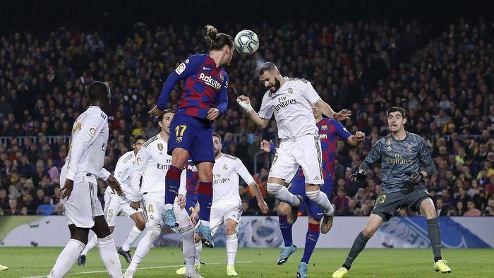 Barcelona Vs Real Madrid Tuntas 0 0