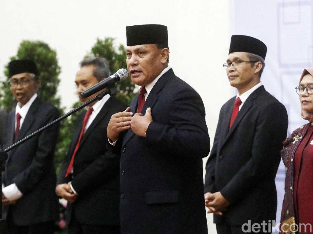 Ketua KPK Firli Bahuri Tunjuk 2 Plt Jubir