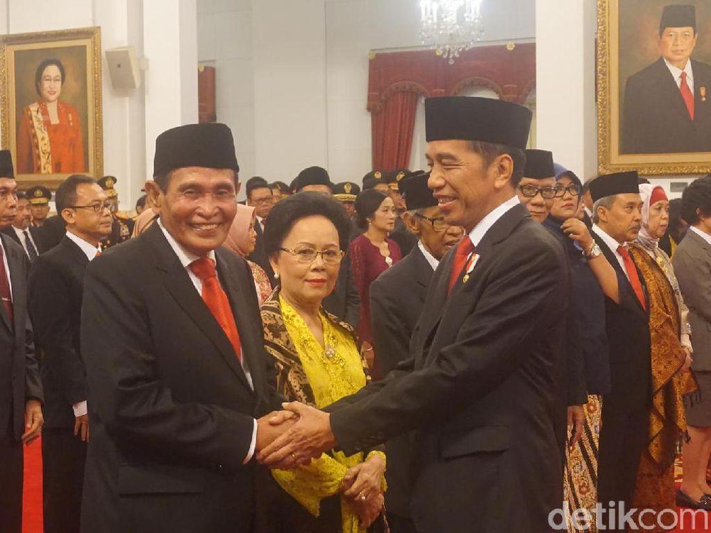 Ini Alasan Jokowi Pilih Eks Pimpinan KPK Tumpak Panggabean Pimpin Dewas