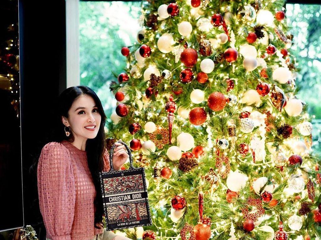 Intip Hiasan Pohon Natal di Rumah 5 Artis Indonesia