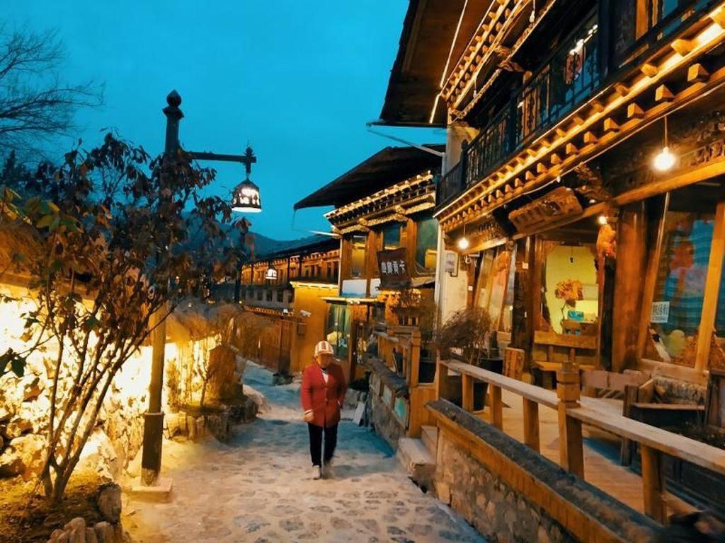 Hotel Budget Namun Kece di Perbatasan Tibet