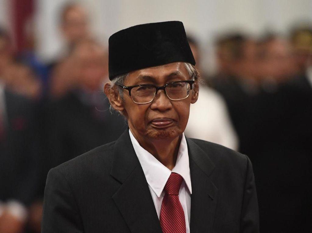 Profil Almarhum Artidjo Alkostar: Aktivis, Advokat, Hakim Agung dan Dewas KPK