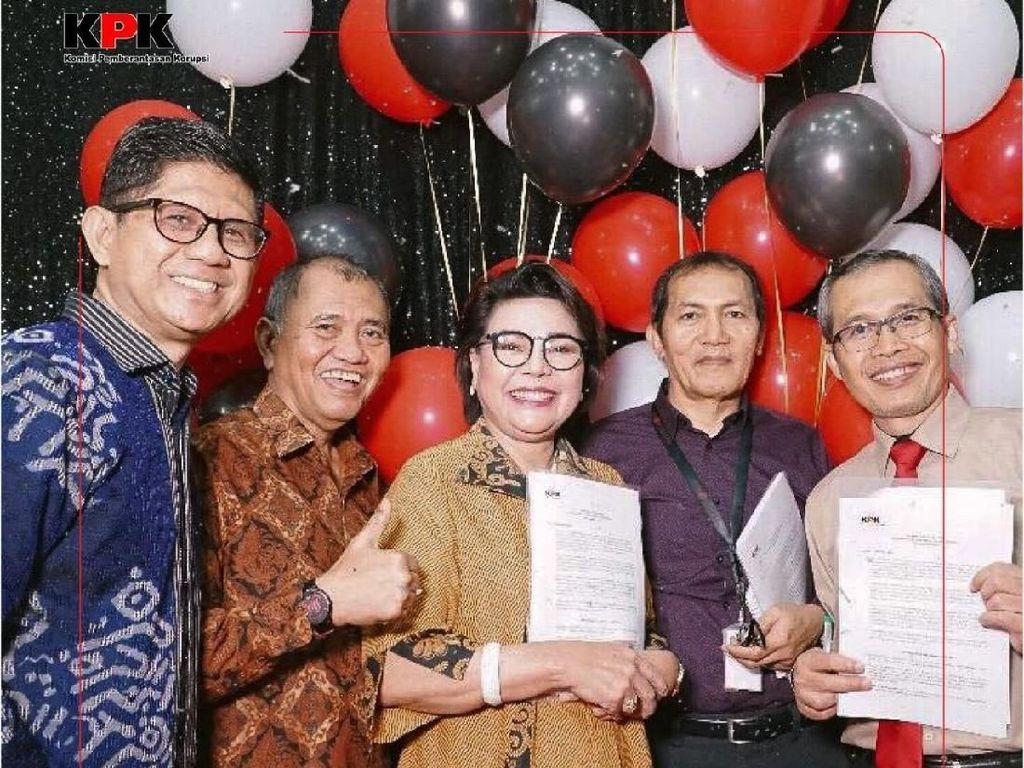 Potret Pamitan 5 Pimpinan KPK Sebelum Digantikan Firli Bahuri cs