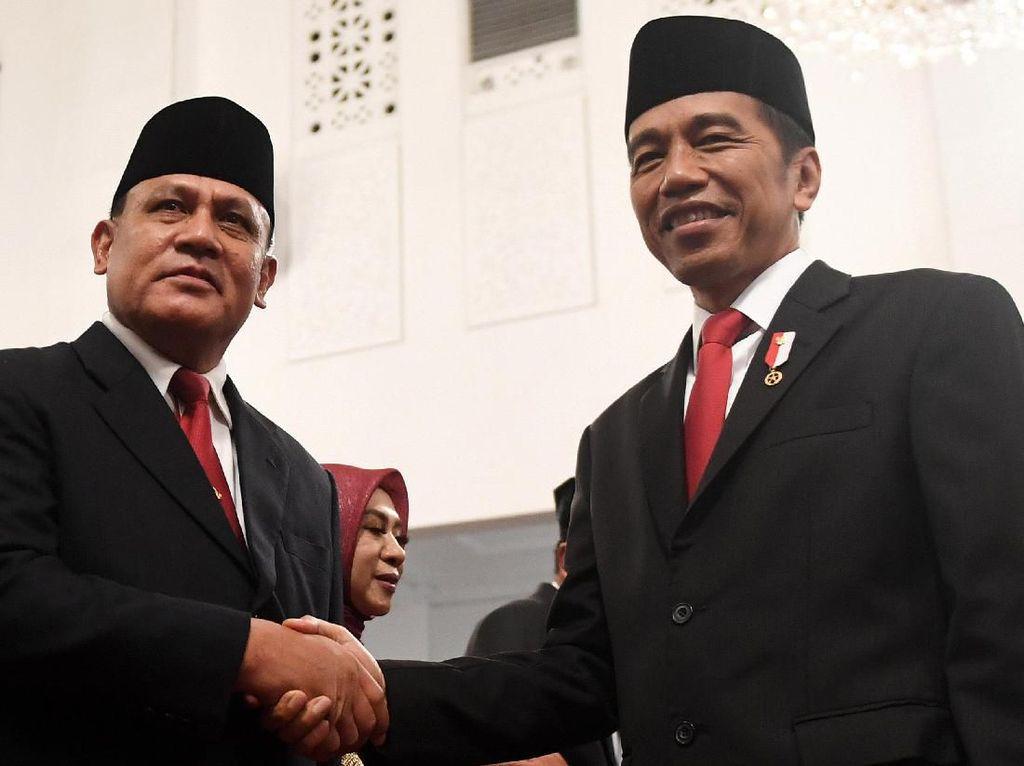 Firli dkk Bisa-bisa Dibina Jokowi Gegara Maladministrasi