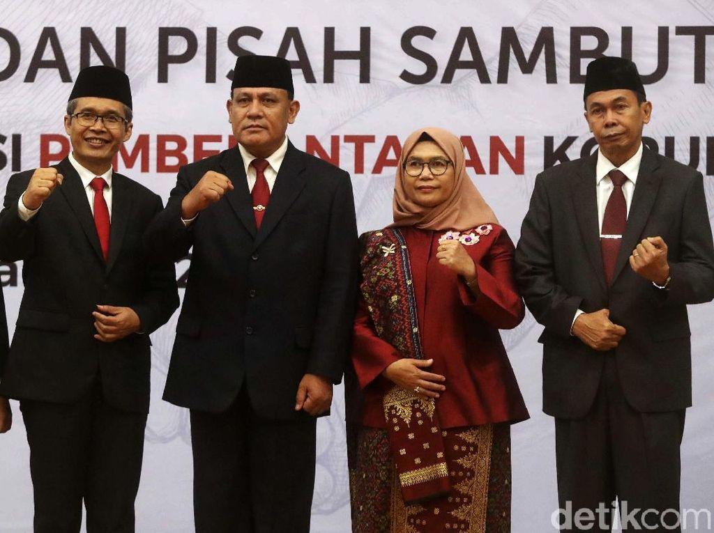 Rapat Internal Perdana, Pimpinan KPK Baru Susun Strategi Tahunan