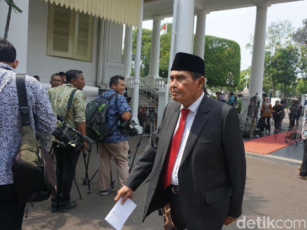 Ketua Dewas KPK Tumpak Beri Sambutan: Opung Kembali Lagi ke Sini