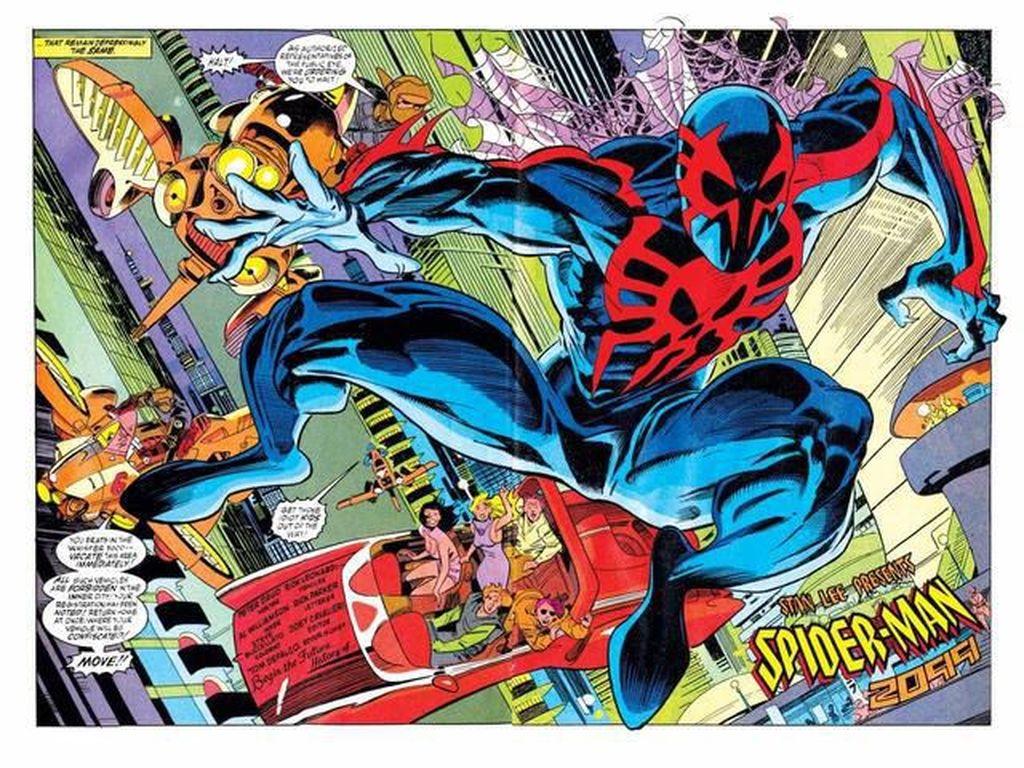 Ini yang Bakal Terjadi di Dunia pada 2099 dari Mata Spider-Man