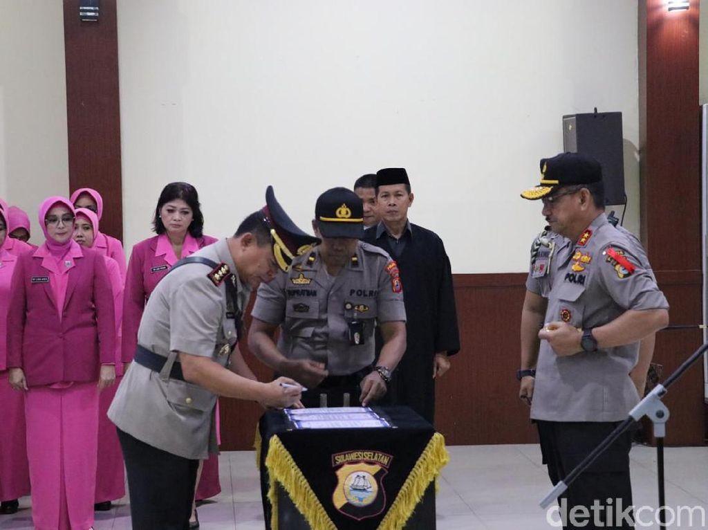 Kapolda Sulsel Pimpin Sertijab Dirintelkam-Lantik Kapolres Tana Toraja Utara