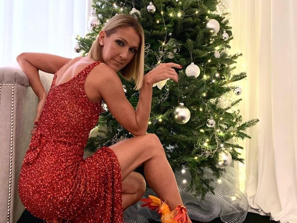 Celine Dion Pakai Sepatu Burung Phoenix, Malah Dikira Dari Bulu Ayam
