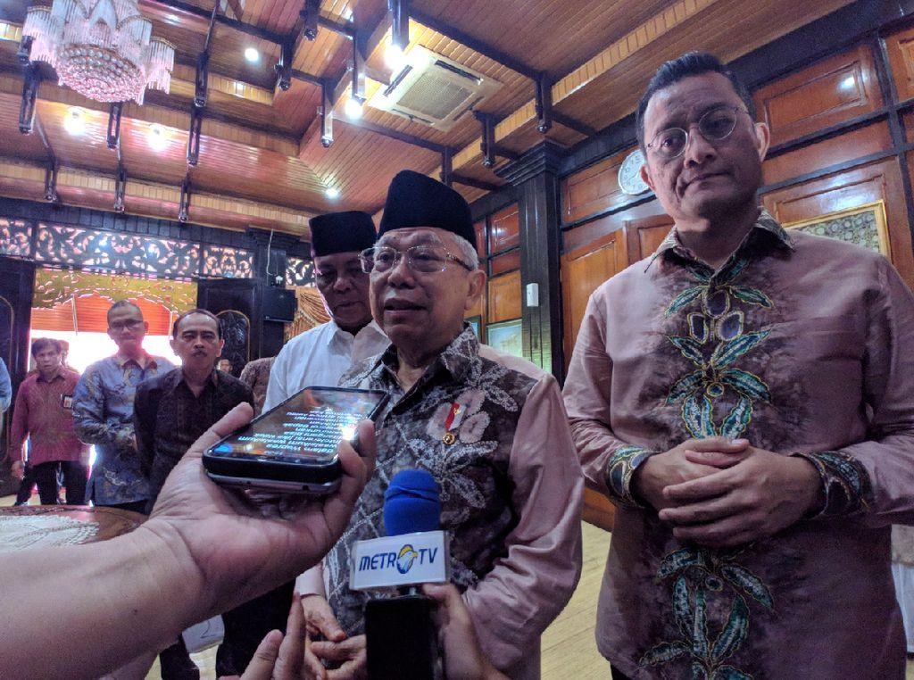 Maruf Minta Pimpinan-Dewan Pengawas KPK Fokus ke Pencegahan Korupsi