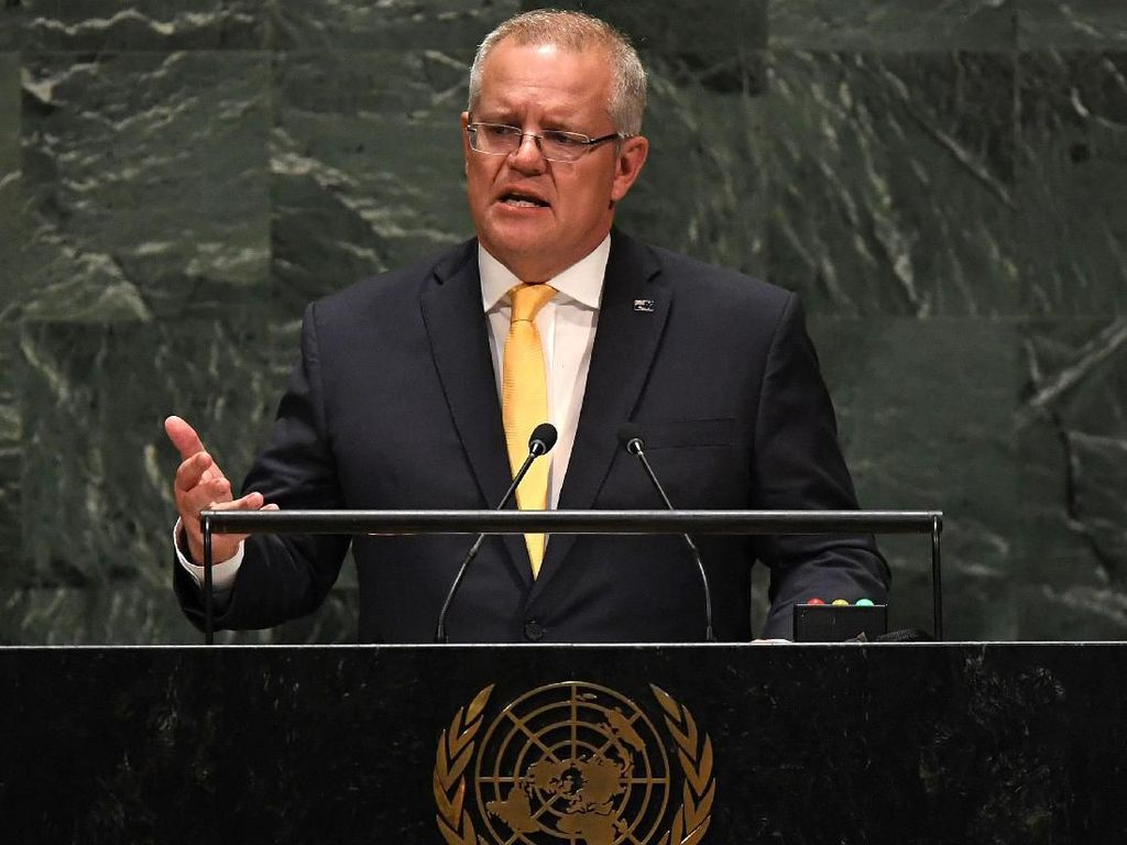 Duh, Mobil Dinas PM Australia Jadi Sasaran Vandalisme Demonstrasi