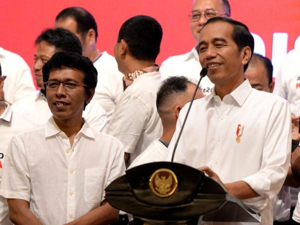 Jokowi Doakan Kesembuhan untuk Adian Napitupulu