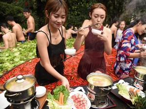 Bisa Berendam Sambil Hirup Aroma Makanan, Ada Spa Hot Pot hingga Kopi