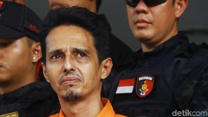 Foto: Habib Husein Alatas tersangka kasus pencabulan (Lamhot Aritonang)
