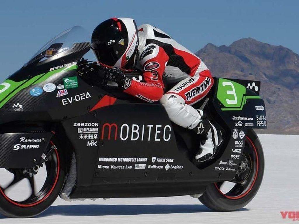 Rekor Motor Listrik Tercepat di Dunia, Tembus 329 Km/jam