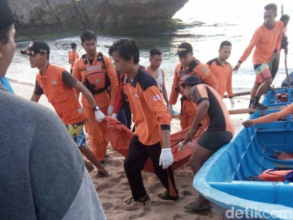 2 Korban Tenggelam di Pantai Slili Gunungkidul Ditemukan Meninggal