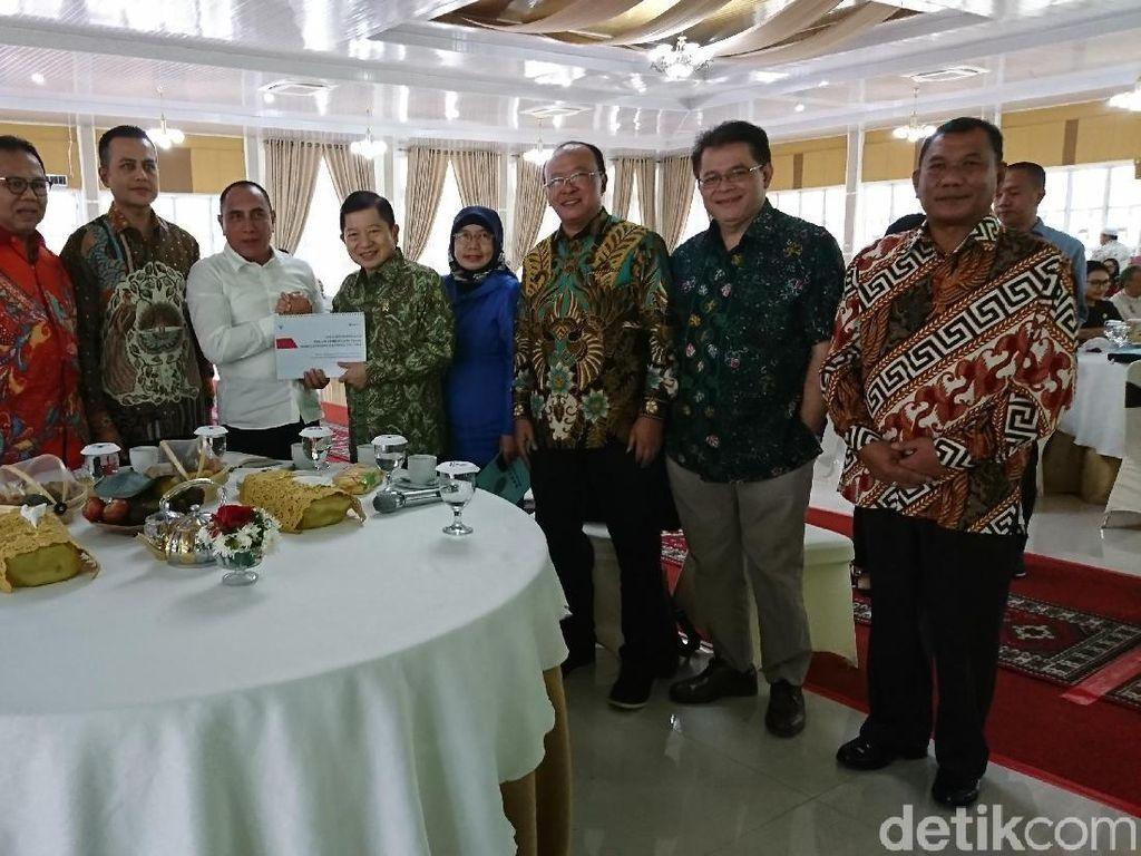 Plt Walkot Laporan soal Program Tangani Banjir Medan ke Suharso