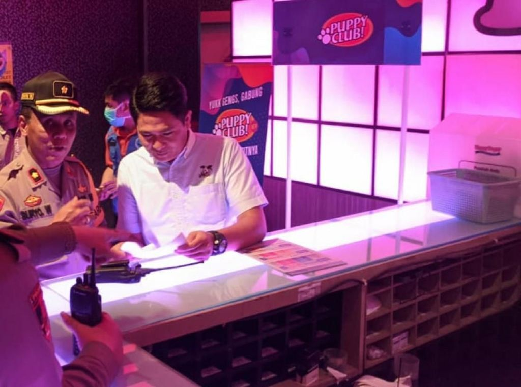 Polresta Sukabumi Razia Tempat Karaoke, 2 Pria Positif Psikotropika