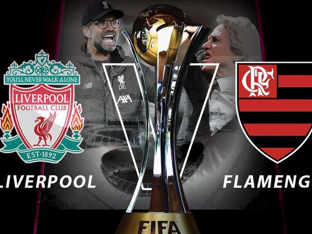 Susunan Pemain Liverpool Vs Flamengo: Van Dijk Starter