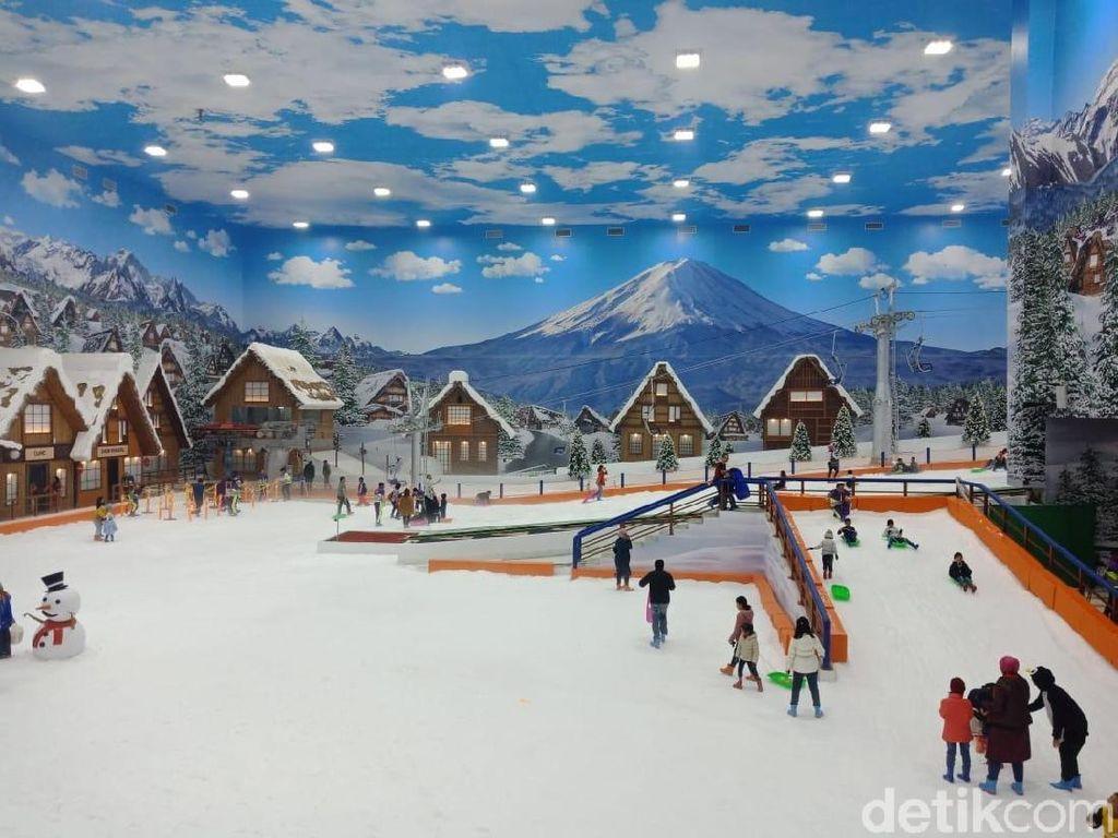 Trans Snow World Bintaro Resmi Dibuka