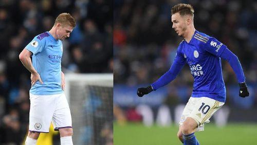 Man City Vs Leicester City