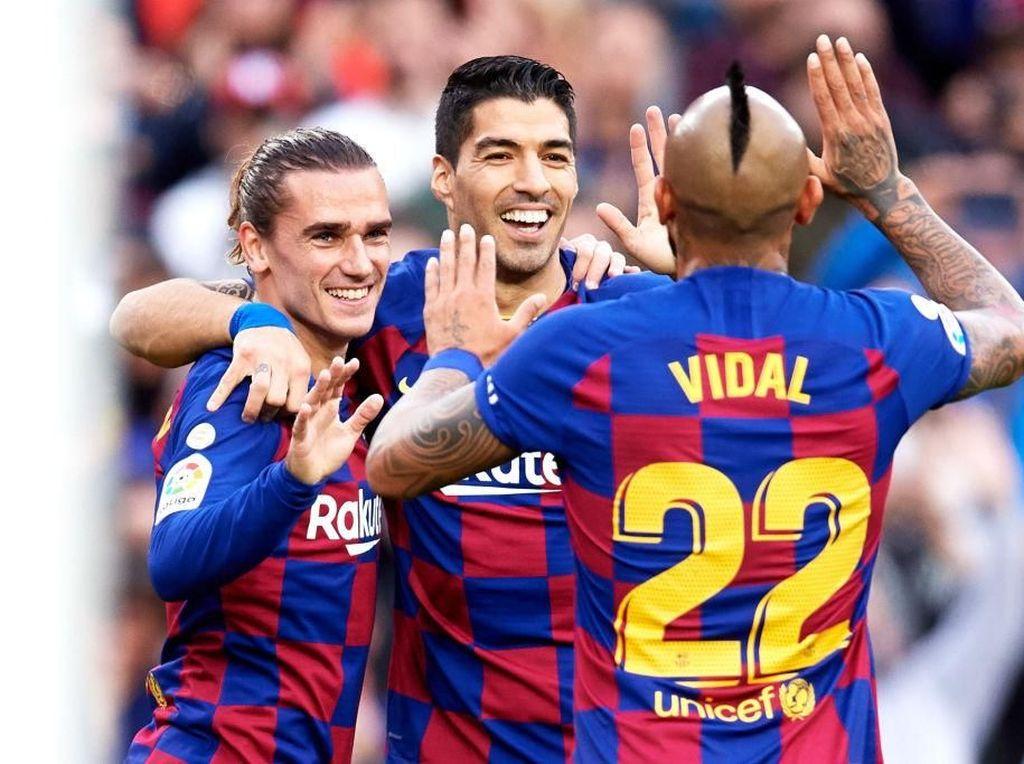 Hasil Liga Spanyol: Barcelona Hajar Alaves 4-1
