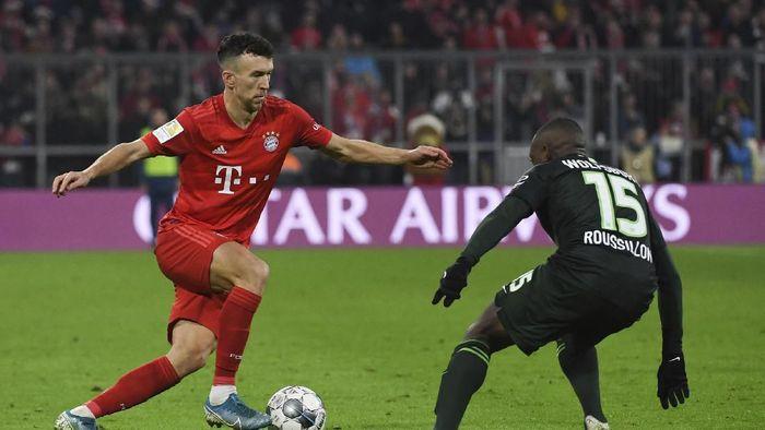 Bayern Munich menang 2-0 atas Vfl Wolfsburg dalam lanjutan Liga Jerman (Foto: Angelika Warmuth/dpa via AP)