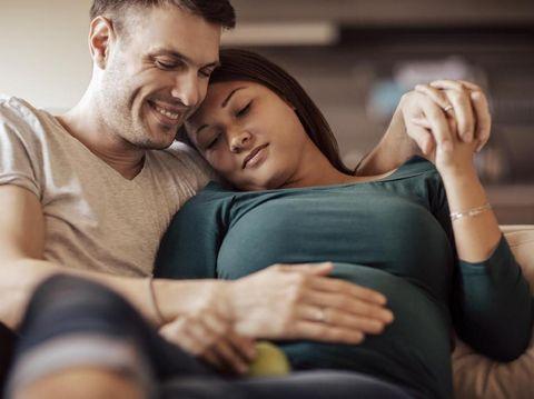 Ilustrasi ibu hamil berhubungan seks