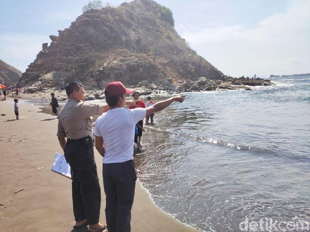 2 Remaja Tergulung Ombak di Pantai Jember, 1 Selamat, 1 dalam Pencarian
