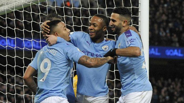 Manchester City pernah berafiliasi dengan Jiwasraya (AP Photo)