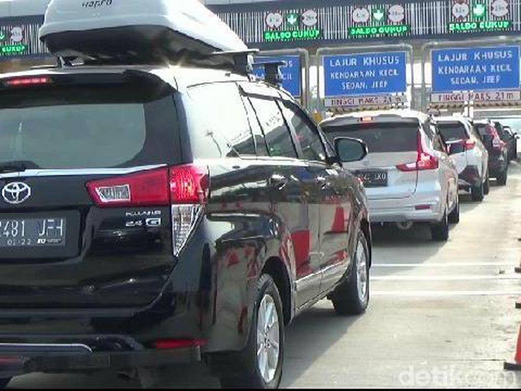Jasa Marga Berlakukan Contraflow di Km 47 Tol Jakarta-Cikampek