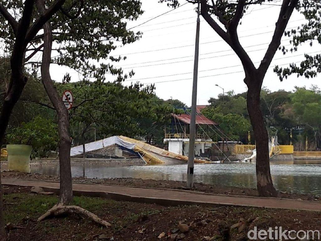 Selesaikan Insiden Jembatan Ambruk, PPK Kemayoran Panggil Pihak Kontraktor