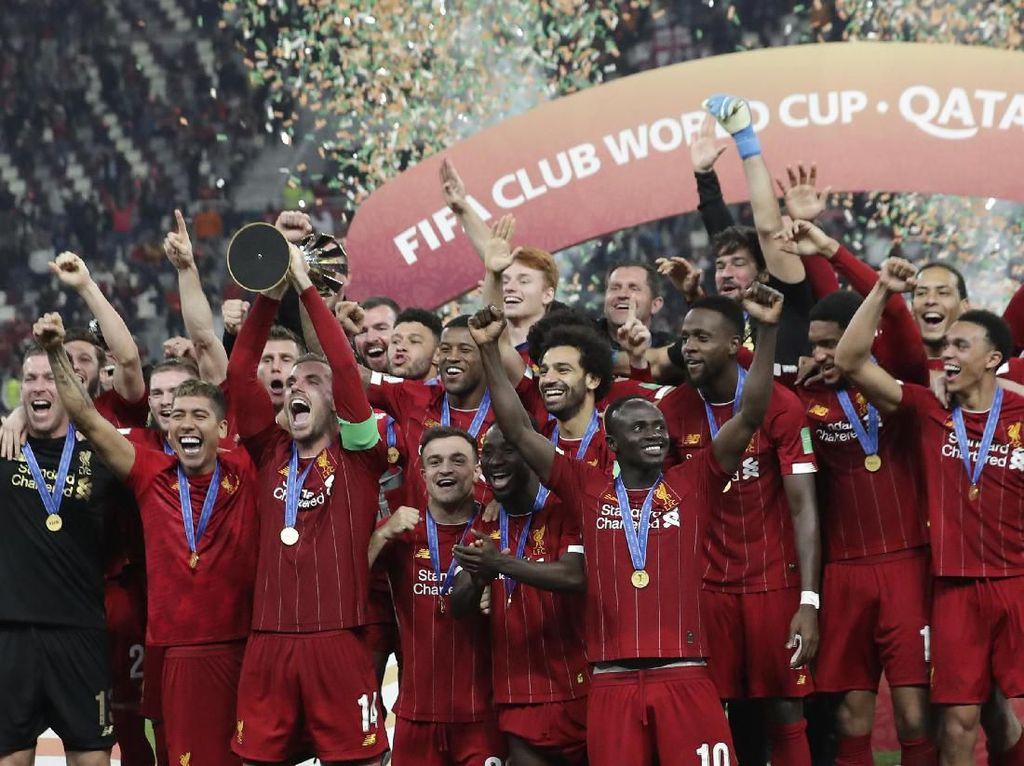 Liverpool Boleh Pakai Emblem Juara Dunia di Liga, Tapi....