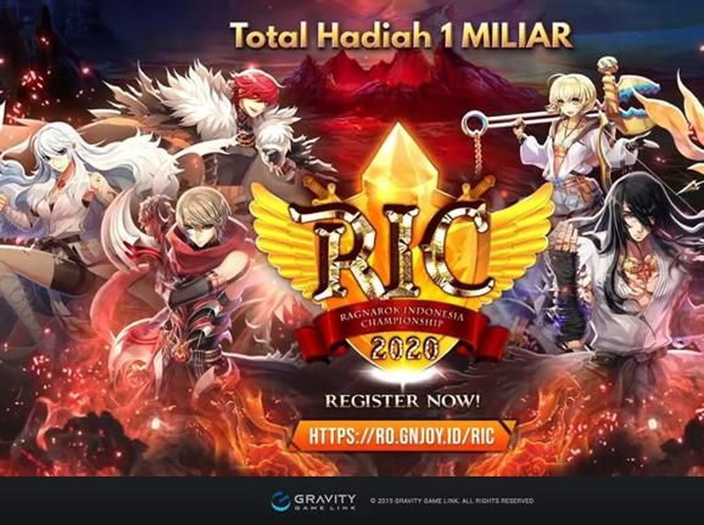 Pendaftaran Ragnarok Indonesia Championship Dibuka!