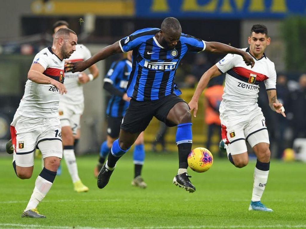 Inter Vs Genoa: Menang 4-0, Si Ular ke Puncak Klasemen
