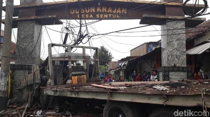 Truk maut kecelakaan di Pasuruan (Foto: Muhajir Arifin/detikcom)