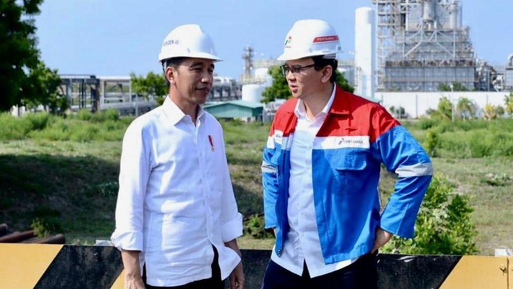 Duet Jokowi-Ahok Cek Proyek: Dari MRT hingga Kilang Minyak