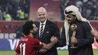 Tanpa Gol, Salah Jadi Pemain Terbaik Piala Dunia Antarklub