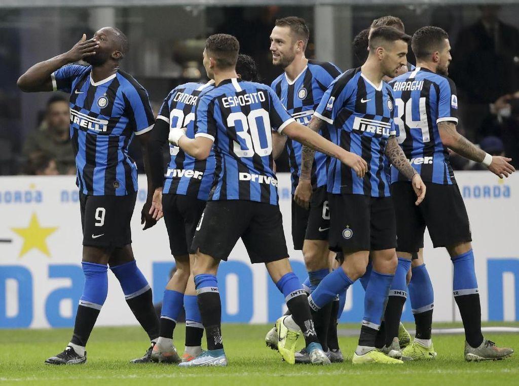 Kalahkan Genoa, Inter ke Puncak Lagi