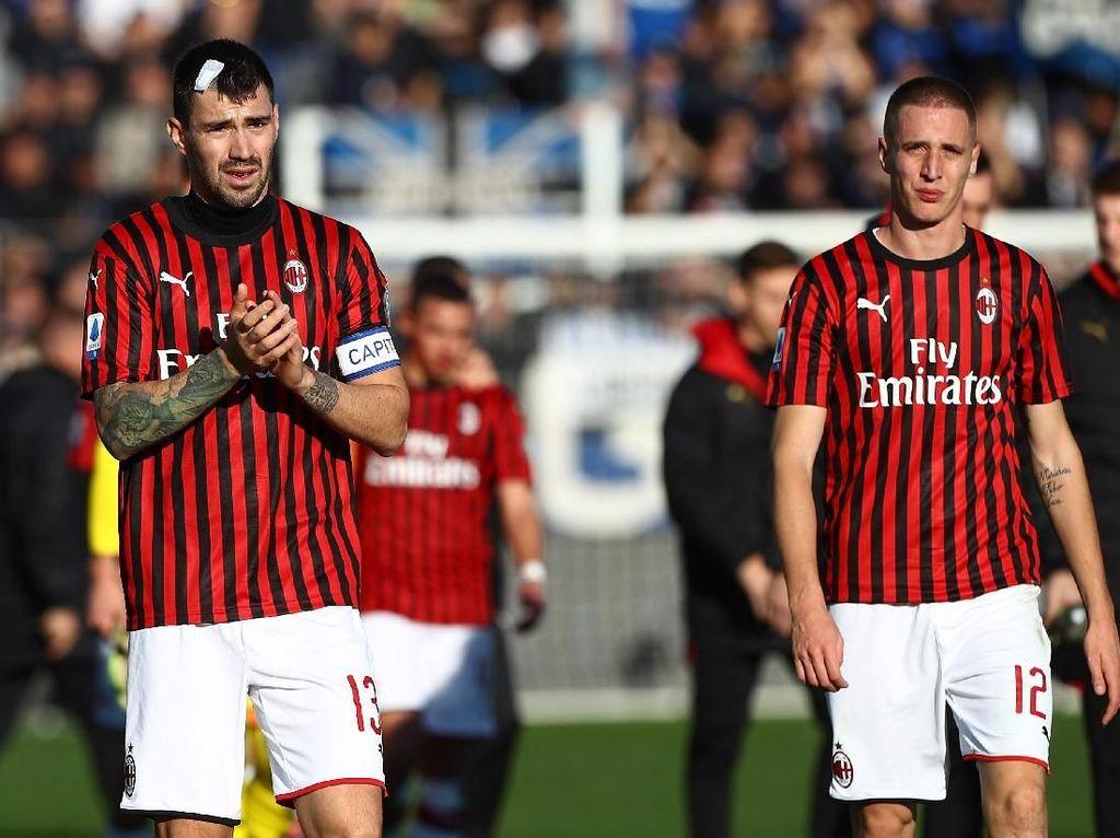 Sadis, AC Milan Dibantai Atalanta 0-5
