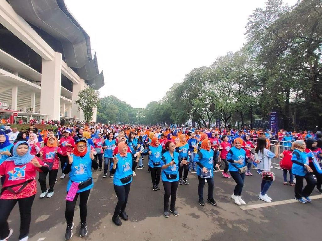 Kumpul di Senayan, Puluhan Ribu Karyawan BRI Rayakan Ultah ke-124