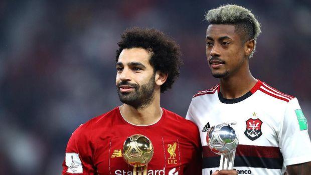 Mohamed Salah dan Bruno Henrique